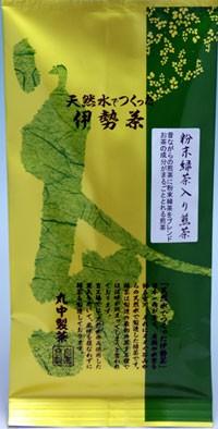 【丸中製茶】伊勢茶粉末緑茶入り煎茶100gメー...