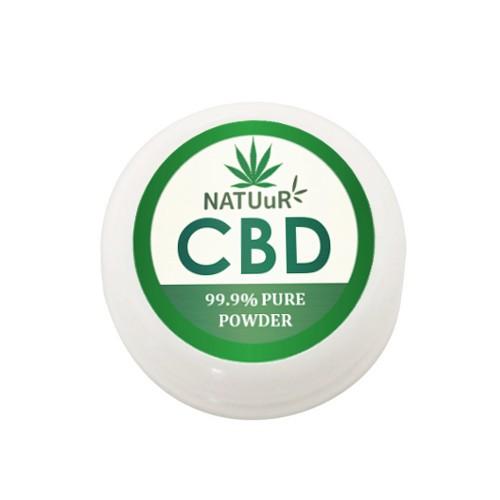 NATUuR Pure CBD パウダー 純度99.9% 1000MG