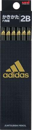 【三菱鉛筆】アディダス adidas 鉛筆 六角 硬度:...
