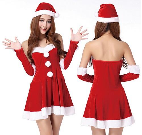 送料無料 サンタ コスプレ クリスマス 衣装 セク...