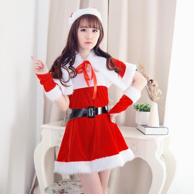送料無料 サンタ コスプレ クリスマス衣装 セクシ...