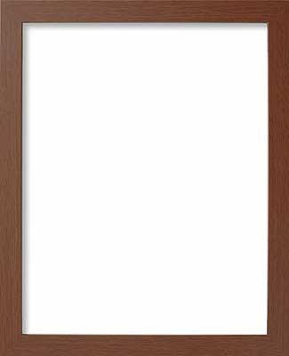 Olympus 刺繍専用木製額縁 W-42 (ブラウン) オリ...