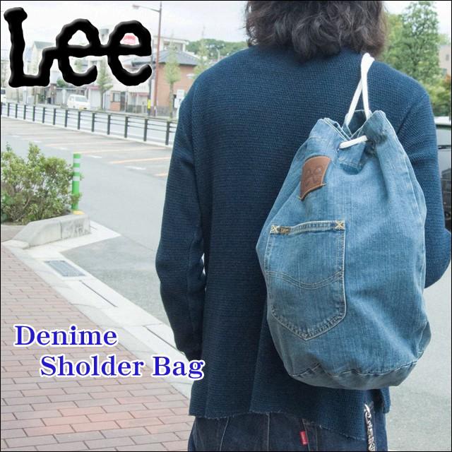 Lee(リー) 男女兼用 ボンサック デニム ワン...