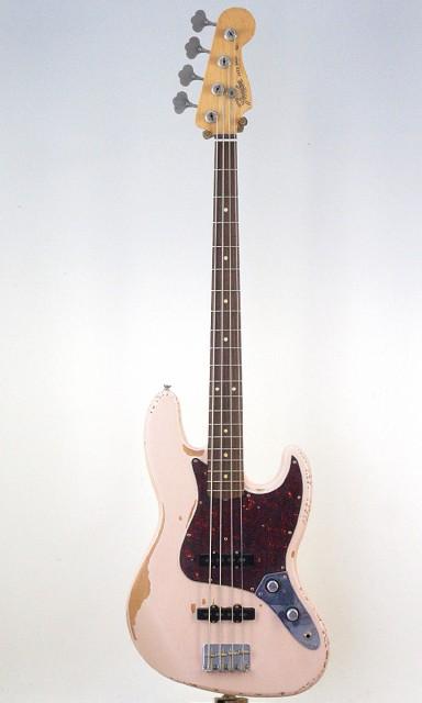 Fender Mexico Flea Jazz Bass Roadworn Shell Pi...