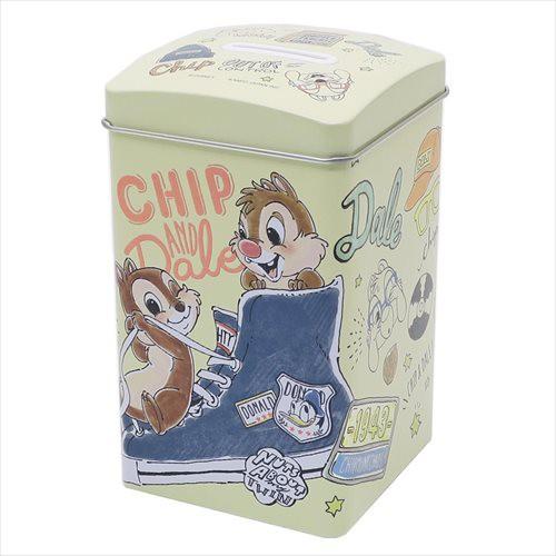 ◆チップ&デール BOX缶バンク(ディズニー)貯金...