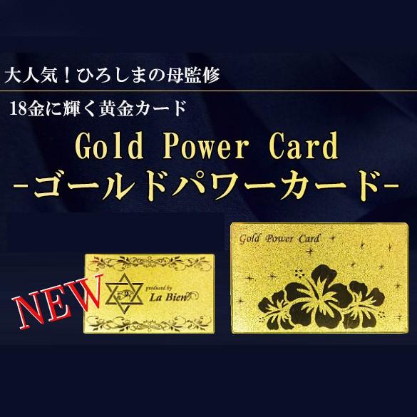 【送料無料】New Gold Power Card   ゴールドパワ...