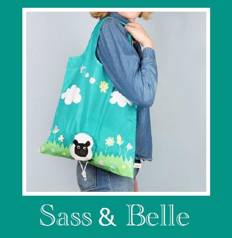 Sass & Belleエコバック/携帯トート