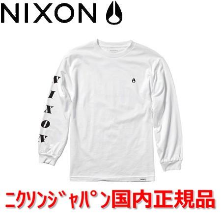 NIXON ニクソン ロングスリーブTシャツ ロンT ...