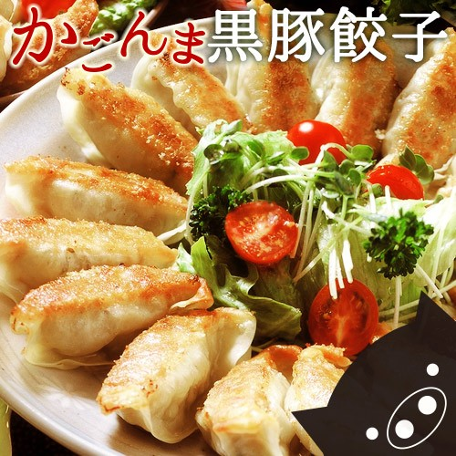 鹿児島県産黒豚入り かごんま餃子 54個(18個入り...