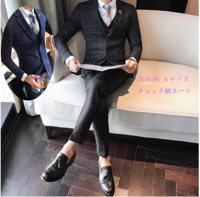 格好いいスーツ スタイリッシュスーツ オールシ...