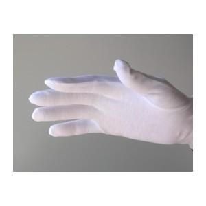 白手袋 綿100% 品質管理 検品用 マチ無し ス...