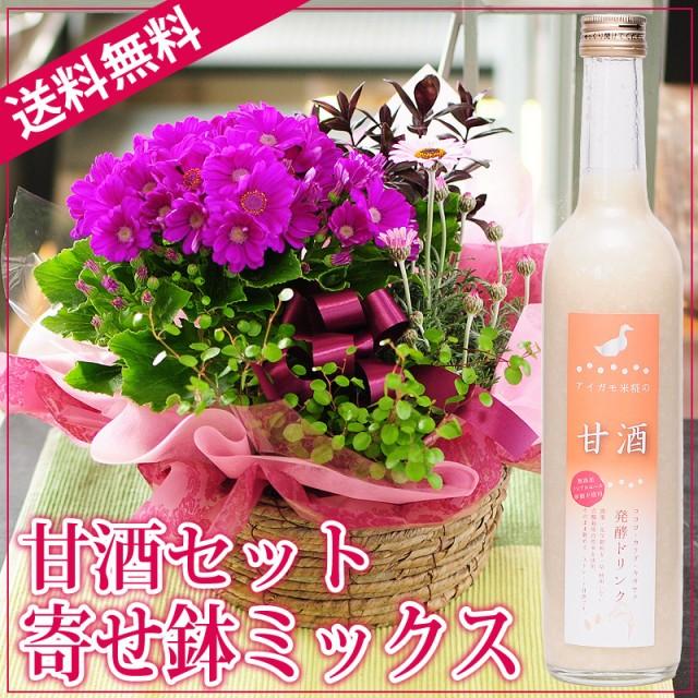 おまかせ寄せ鉢ミックス 甘酒セット【送料無料】...