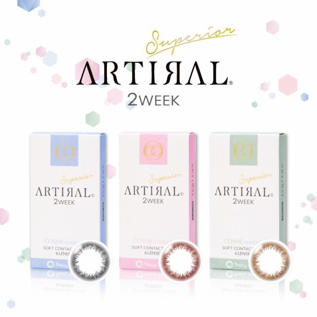 [メール便送料無料]ARTIRAL /2week/1箱6枚入り ...