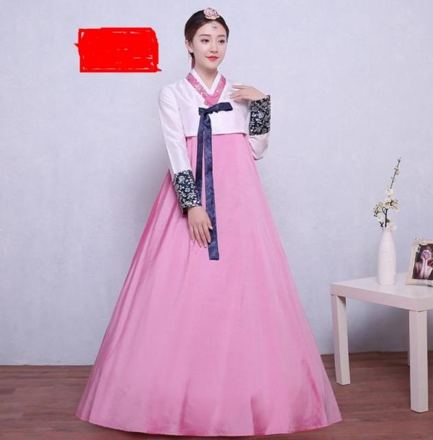 6色/2点セット 韓国ドレス 韓服 宮廷風 チマチョ...