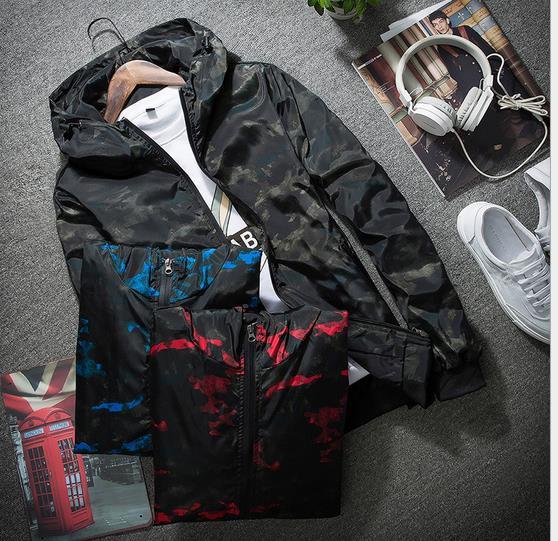 3色 ジャケット 薄手 迷彩大きいサイズ メンズ ...