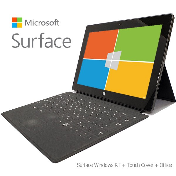 MicroSoft Surface RT 32GB + Touch Cover +Offic...