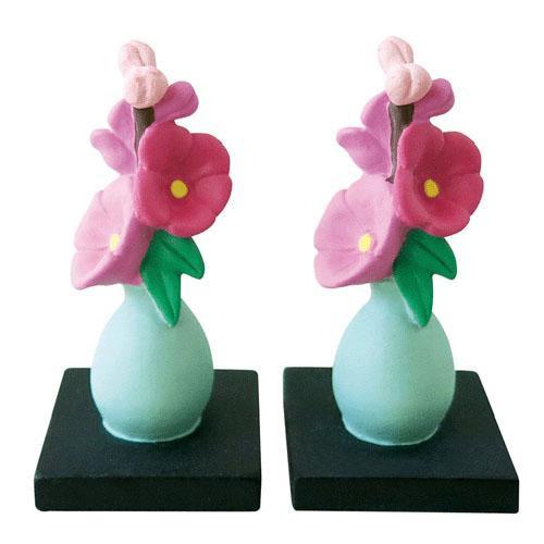 concombre 桃の花セット