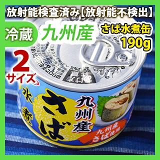 九州産 さば水煮(缶詰) 190g 同梱サイズ2【缶詰...