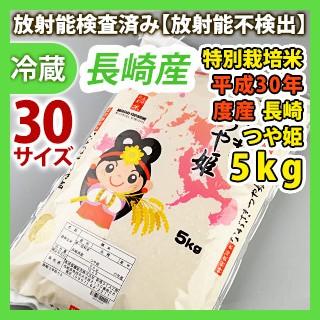 [新米]長崎産【特別栽培米】平成30年度産 白米つ...