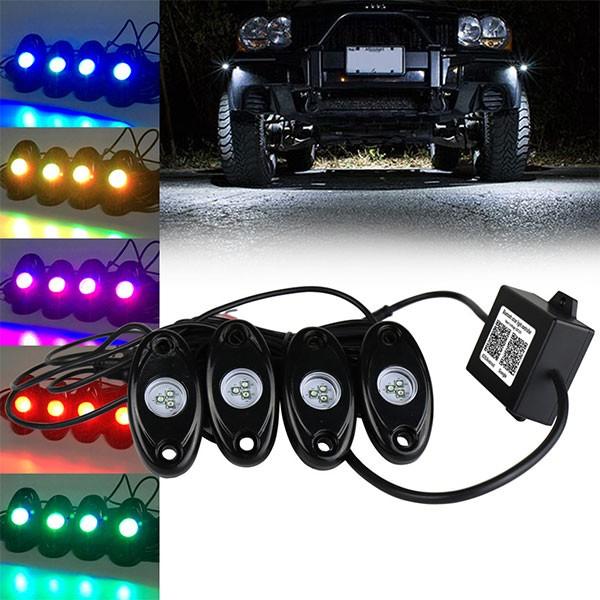 LED フットランプ アンダーライト スマホ(アプリ...