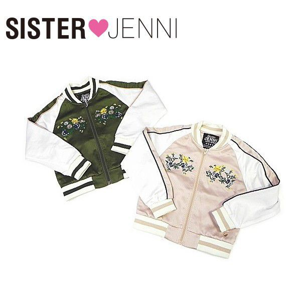 JENNI ジェニィ ジェニー 子供服 18春 サテ...