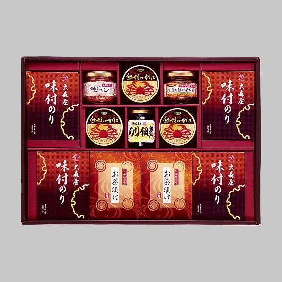 大森屋&和風珍味詰合せギフト(鮭ほぐし・のり佃...