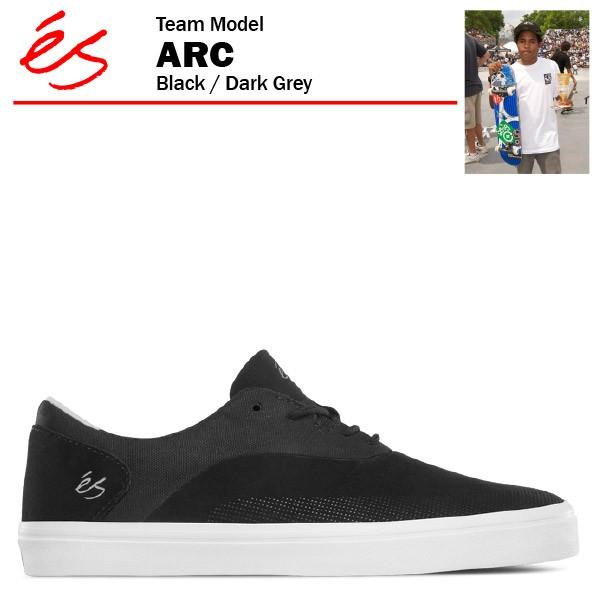 エス ARC ブラック/ダークグレー スケート スケー...