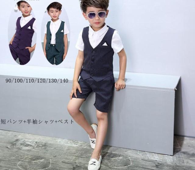 90~140卒業式 七五三スーツ 男の子 フォーマル キ...