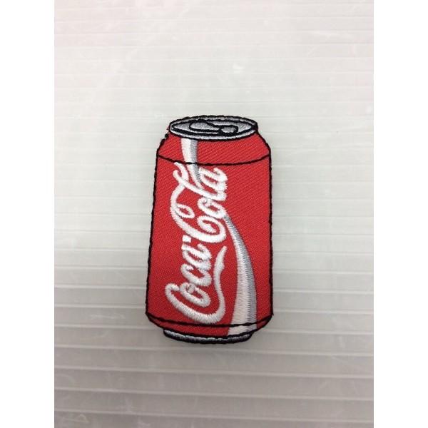 小型刺繍ワッペン(DF) (コカコーラ缶)アイロン...