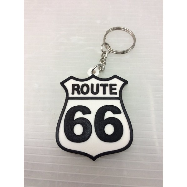 ルート66  ラバーキーチェーン ROUTE66 is the ...