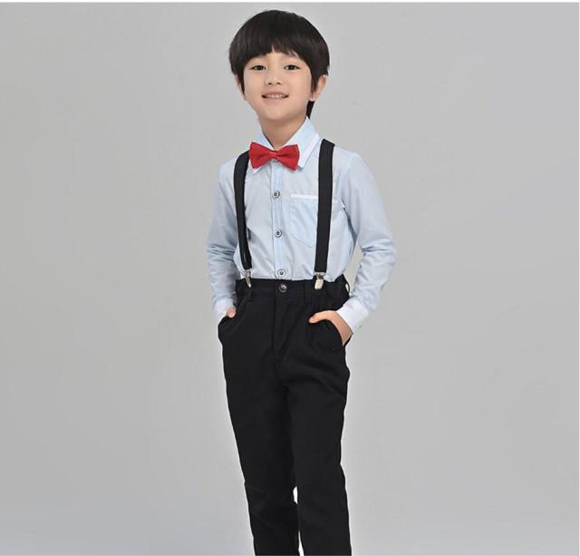 激安☆4点セット シャツ ズボン 蝶ネクタイ ...