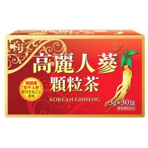 高麗人参顆粒茶 30包 3個セット