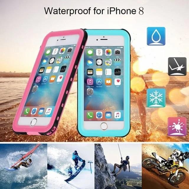 iPhone8 iphone8plus 防水 ケース 完全防水ケース...