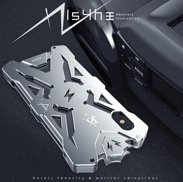 戦神 iphone x ケース バンパー  防雪 防塵 耐衝...