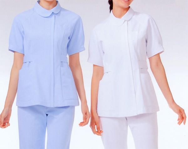 013 レディスジャケット 半袖 全2色 (看護師...