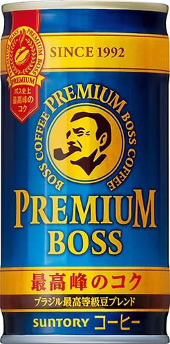 1ケース販売 BOSS プレミアムボス 185g×30本 [ボ...