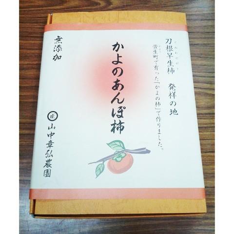 送料無料★奈良県「かよのあんぽ柿 9個入」【のし...