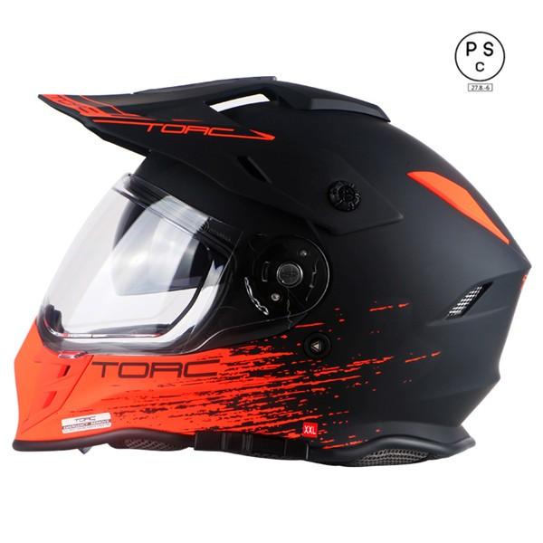 バイクヘルメット オフロード ヘルメット ダブル...