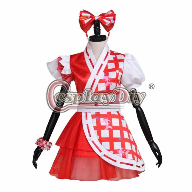 高品質 高級コスプレ衣装 ももクロ 風 桃神祭 タ...