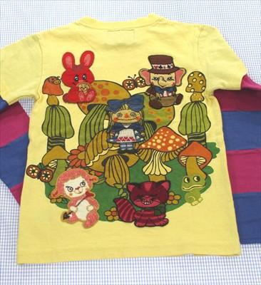 グラグラ GRAND GROUND 長袖Tシャツ ロンt 130cm ...