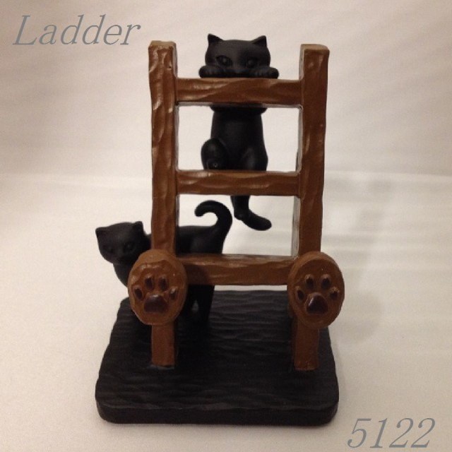 猫スマートフォンスタンド(はしご)☆代引き手数料...