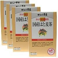 国産はと麦茶  5gx24袋 x 4箱 【ハトムギ...