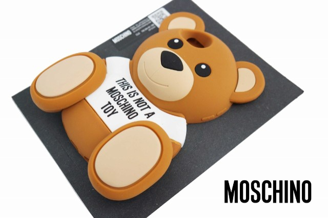 MOSCHINO iphone5/5s ケース Cute Bear 正規品