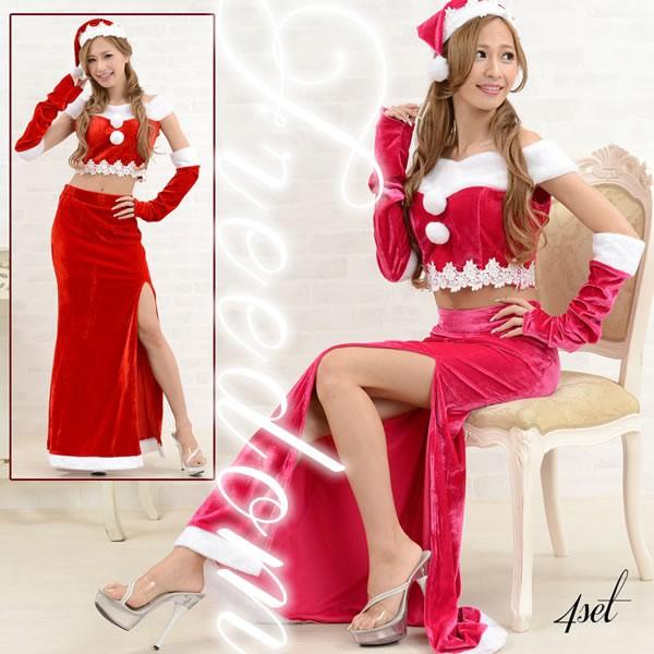 セール クリスマス パーティー サンタ コスプレ ...