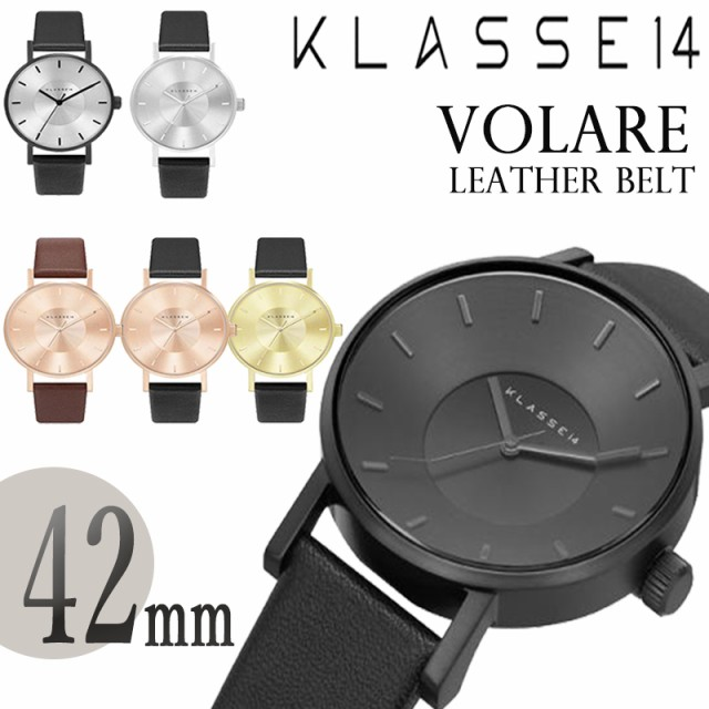 KLASSE14 クラス14 MARIO NOBILE VOLARE 42mm LEA...