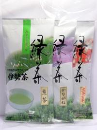 【丸中製茶】伊勢茶3品セット送料無料(送料無料...