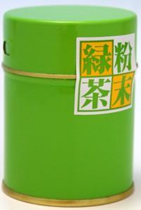 【丸中製茶】粉末緑茶50g缶入(伊勢茶/緑茶/お茶...