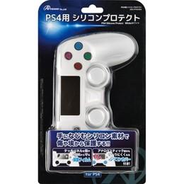 ●◆アンサー PS4用シリコンプロテクト(ホワイト)...