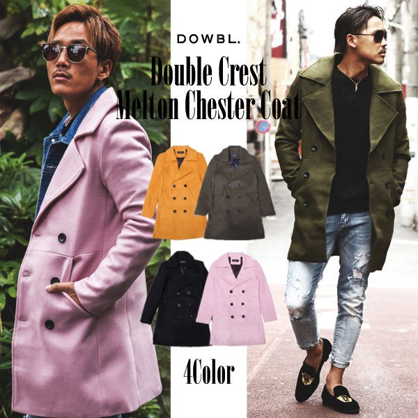 DOWBL/ ダブル/ Double Crest Melton Chester  Co...
