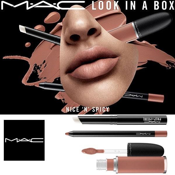 MAC/マック look in a box lip kit Nice n Spicy...